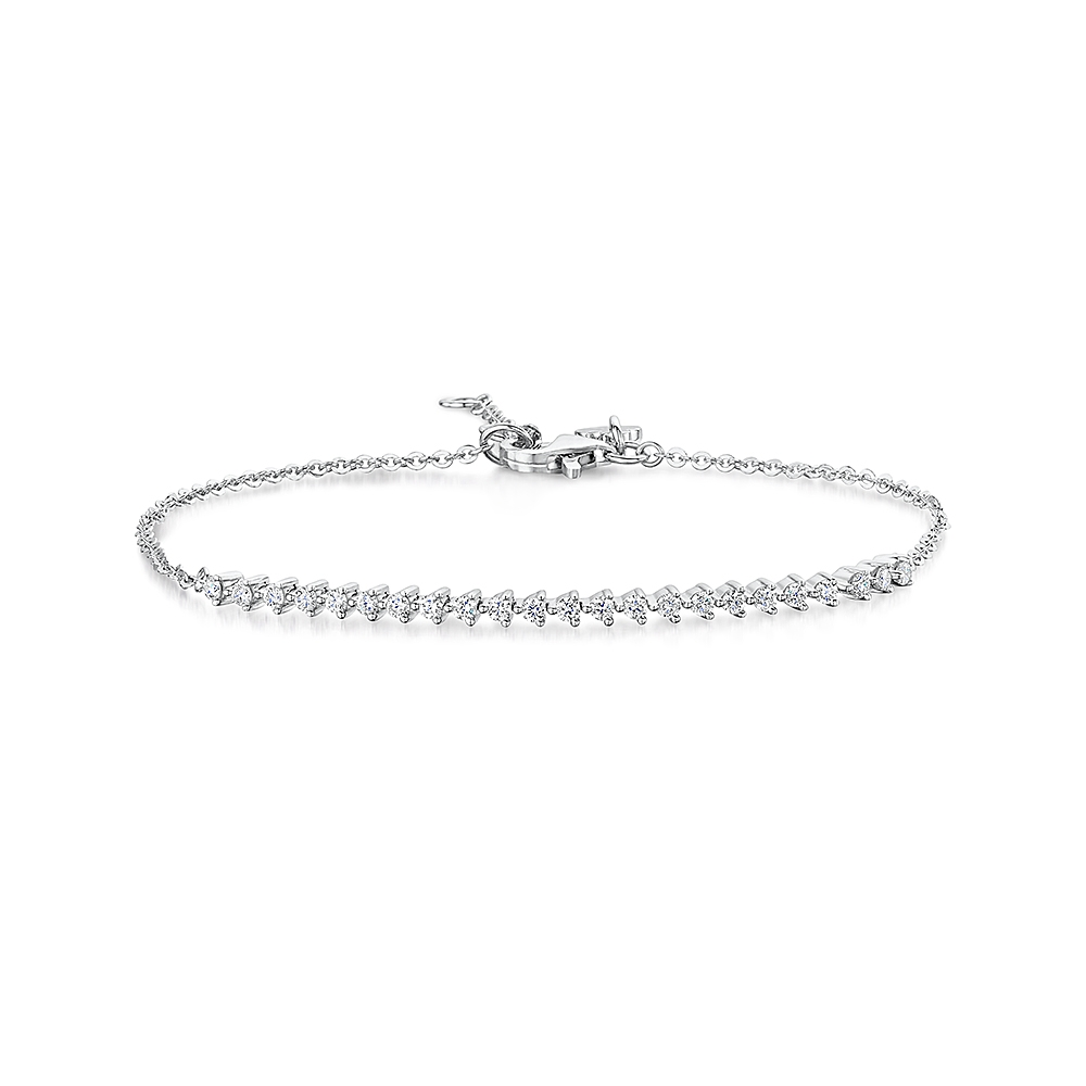 ROX Diamond Toggle Line Bracelet 0.32cts
