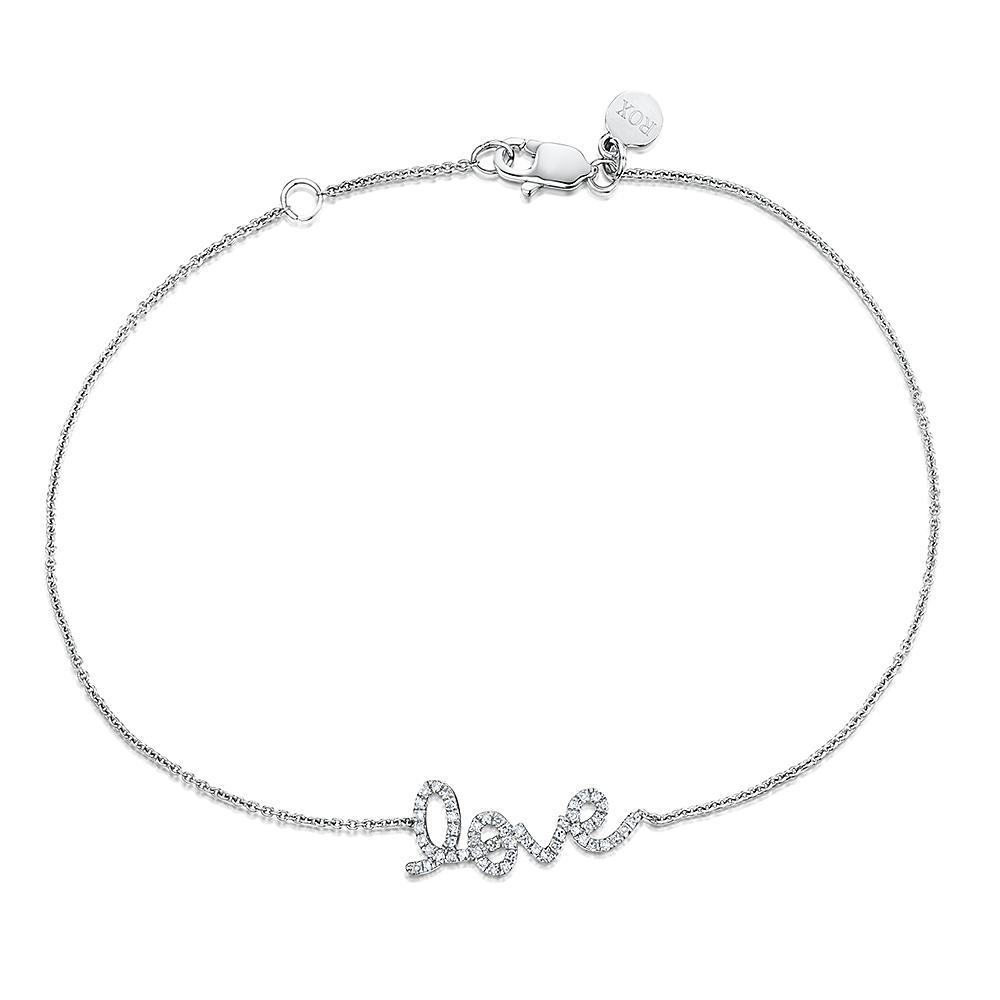 ROX Diamond Love Bracelet 0.12cts