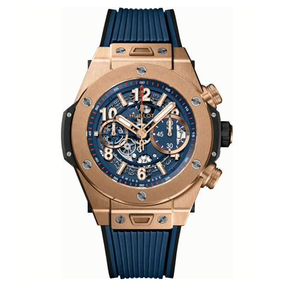 Hublot Big Bang Unico Blue Dial Watch 45mm