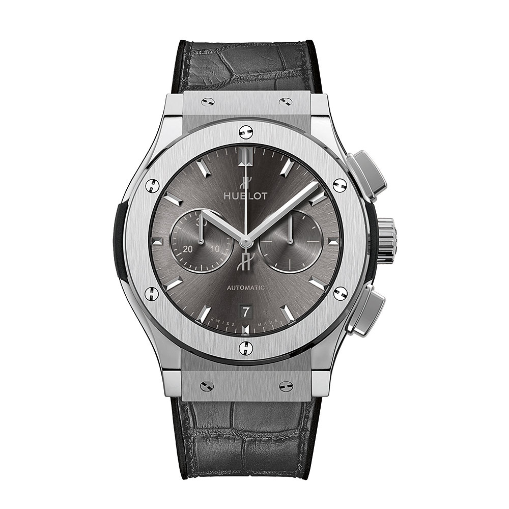 Hublot Classic Fusion Racing Grey Titanium Watch 42mm 541.NX.7070.LR