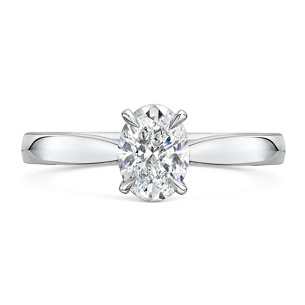 ROX Adore Oval Cut Diamond Ring 1.05cts