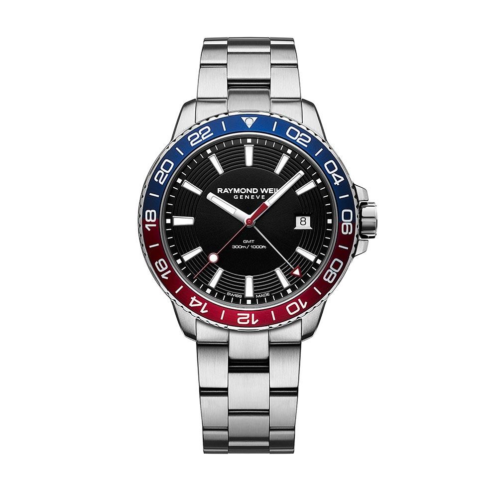 Raymond Weil Tango Diver GMT Bezel Watch 8280-ST3-20001
