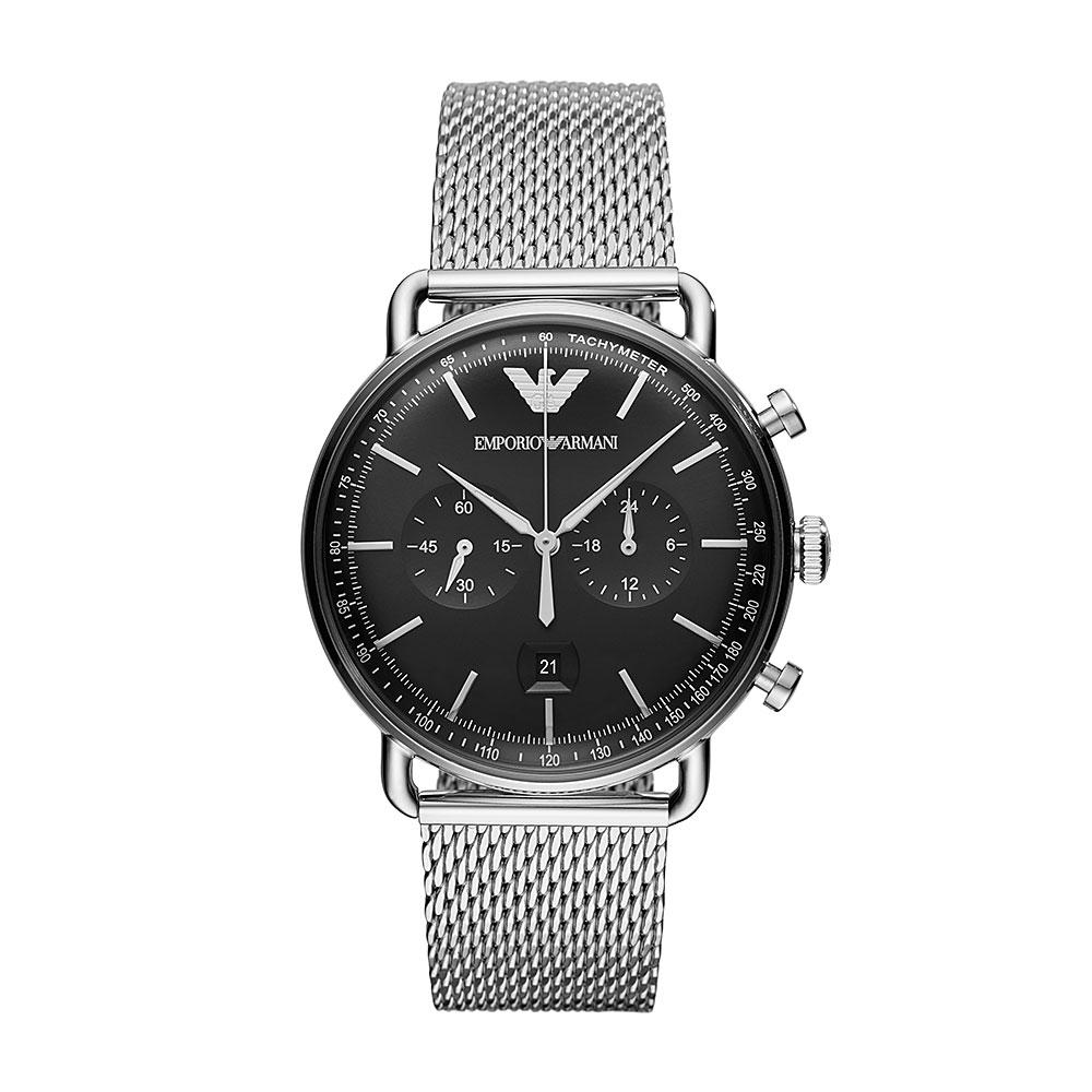 Emporio Armani Aviator Chronograph Watch AR11104
