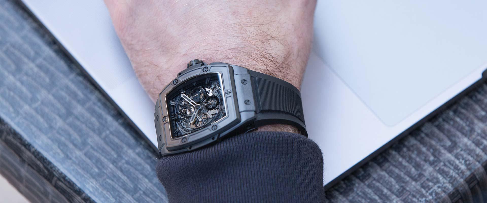 Hublot Spirit of Big Bang All Black Watch 42mm 641.CI.0110.RX