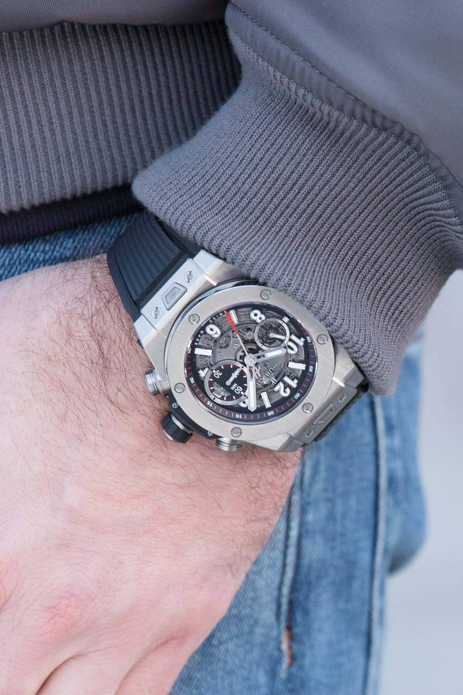 Hublot Big Bang Unico Titanium Watch 45mm 411.NX.1170.RX