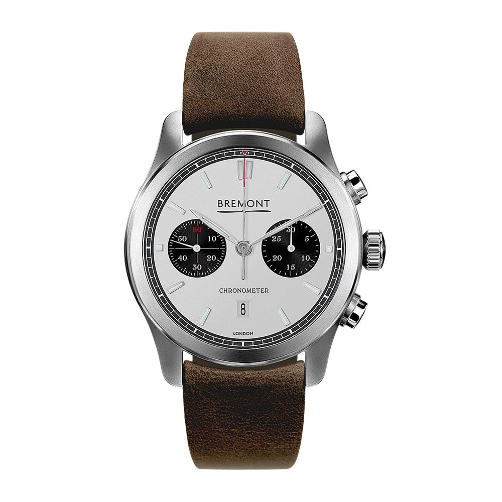 Bremont Classic Silver Dial Watch ALT1-C/WH-BK