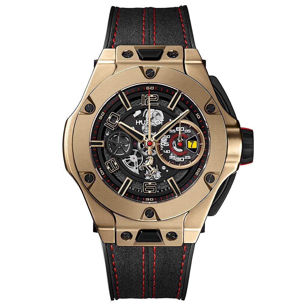Hublot Big Bang Ferrari Unico Magic Gold Watch