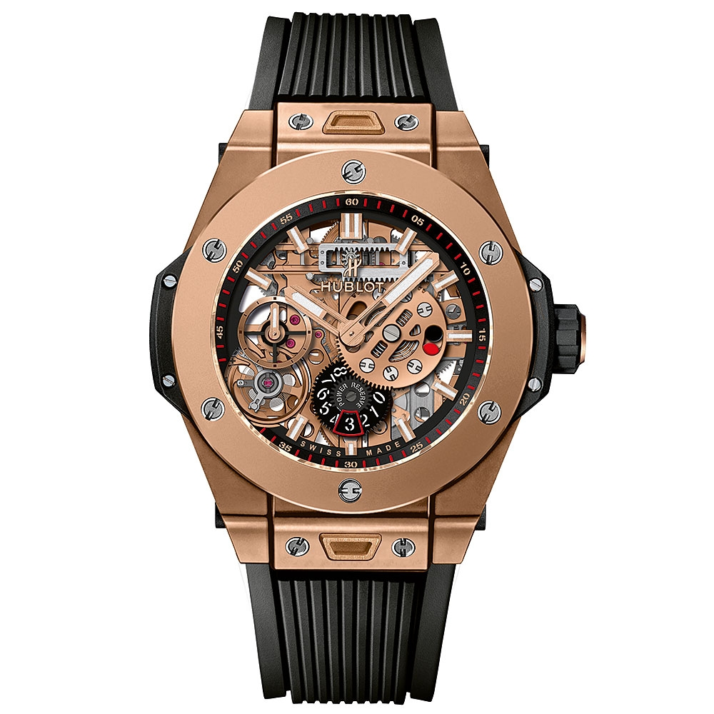 Hublot Big Bang Meca-10 King Gold Watch 45mm