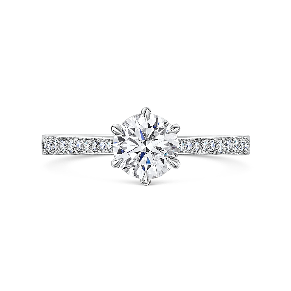 ROX Adore Diamond Shoulder Ring 1.64cts