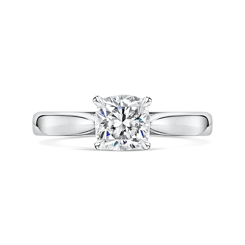 ROX Adore Cushion Cut Diamond Ring 1.07cts
