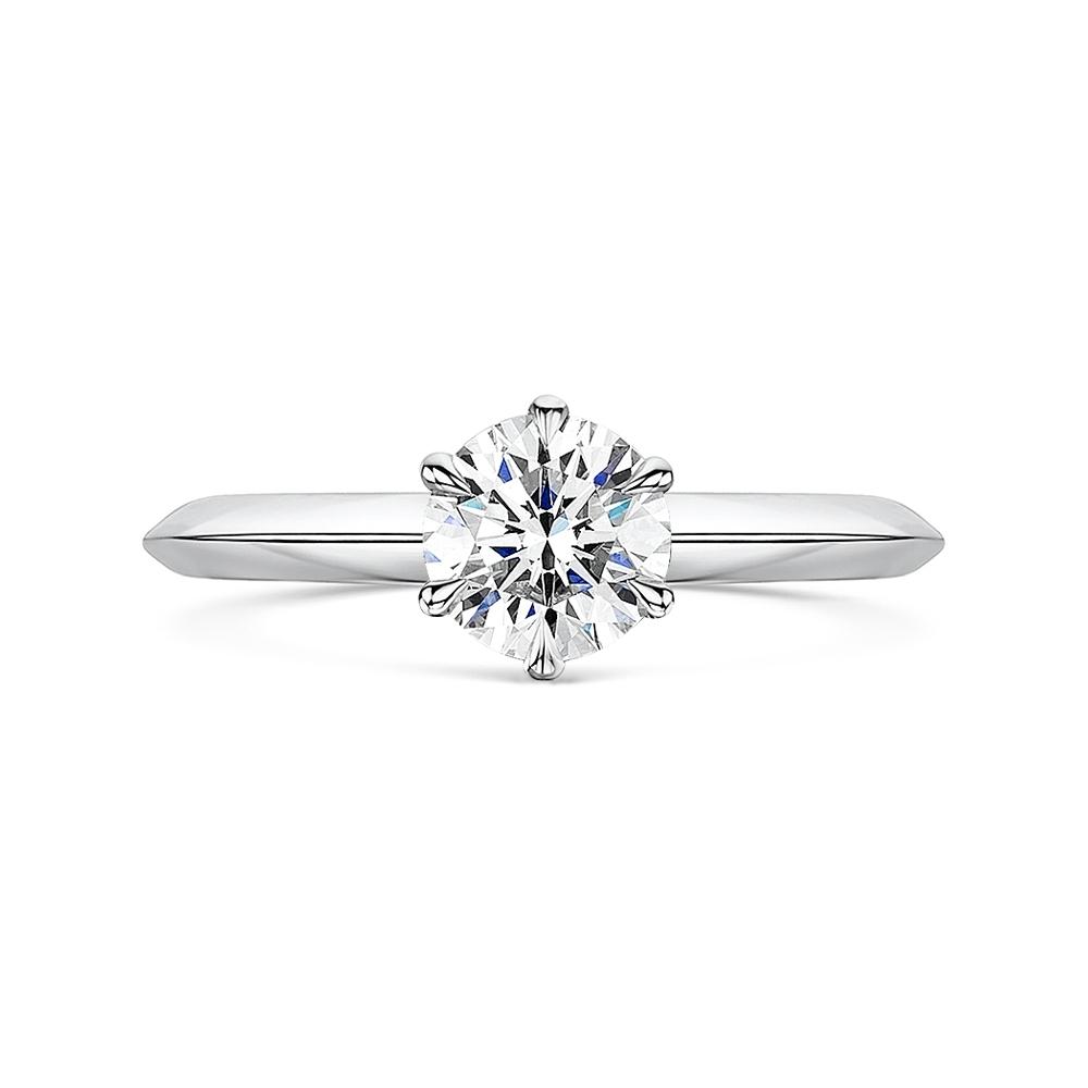 ROX Classic Brilliant Cut Diamond Ring 1.01cts