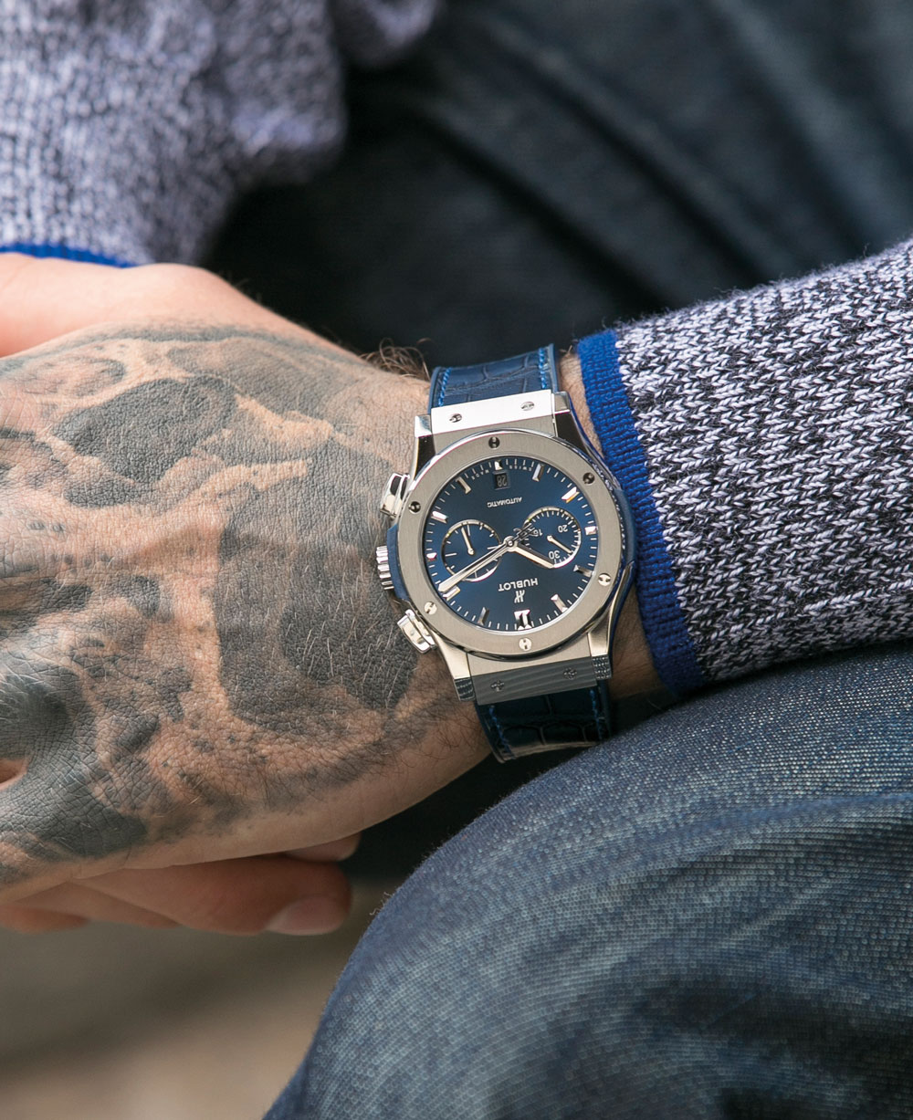 Tag Heuer Uk >> ONES TO WATCH: HUBLOT CLASSIC FUSION BLUE REVIEW | ROX MAGAZINE