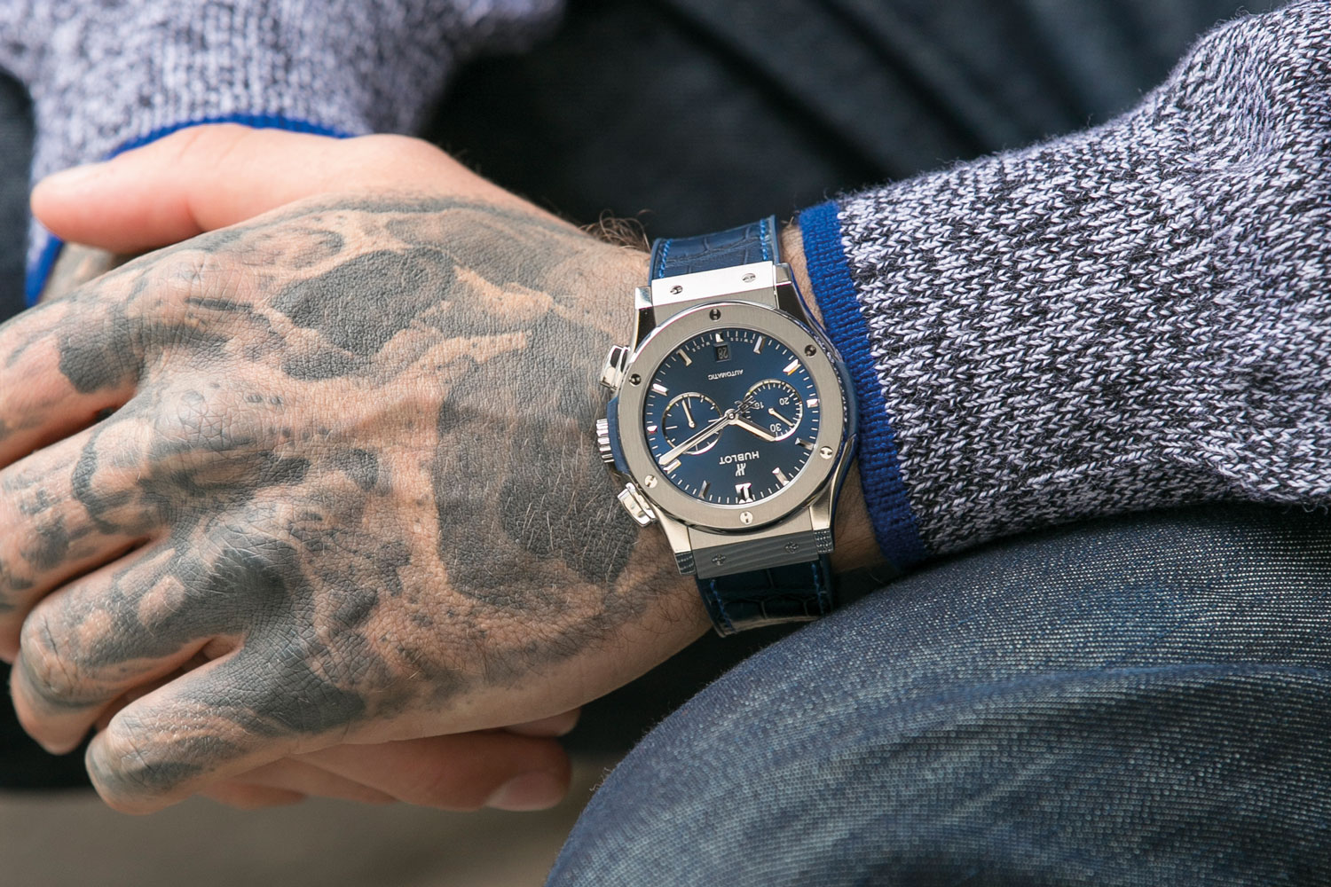 Hublot Classic Fusion Blue Watch Review
