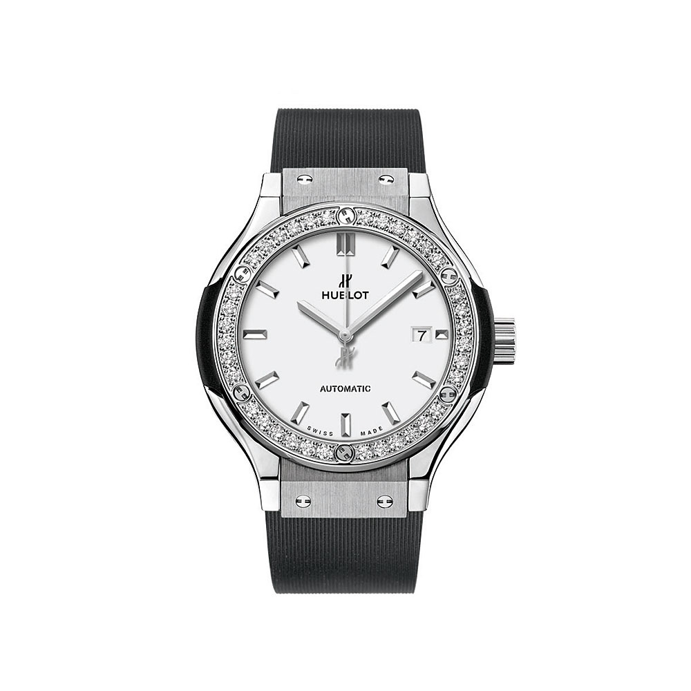 Hublot Classic Fusion Titanium Diamond Watch