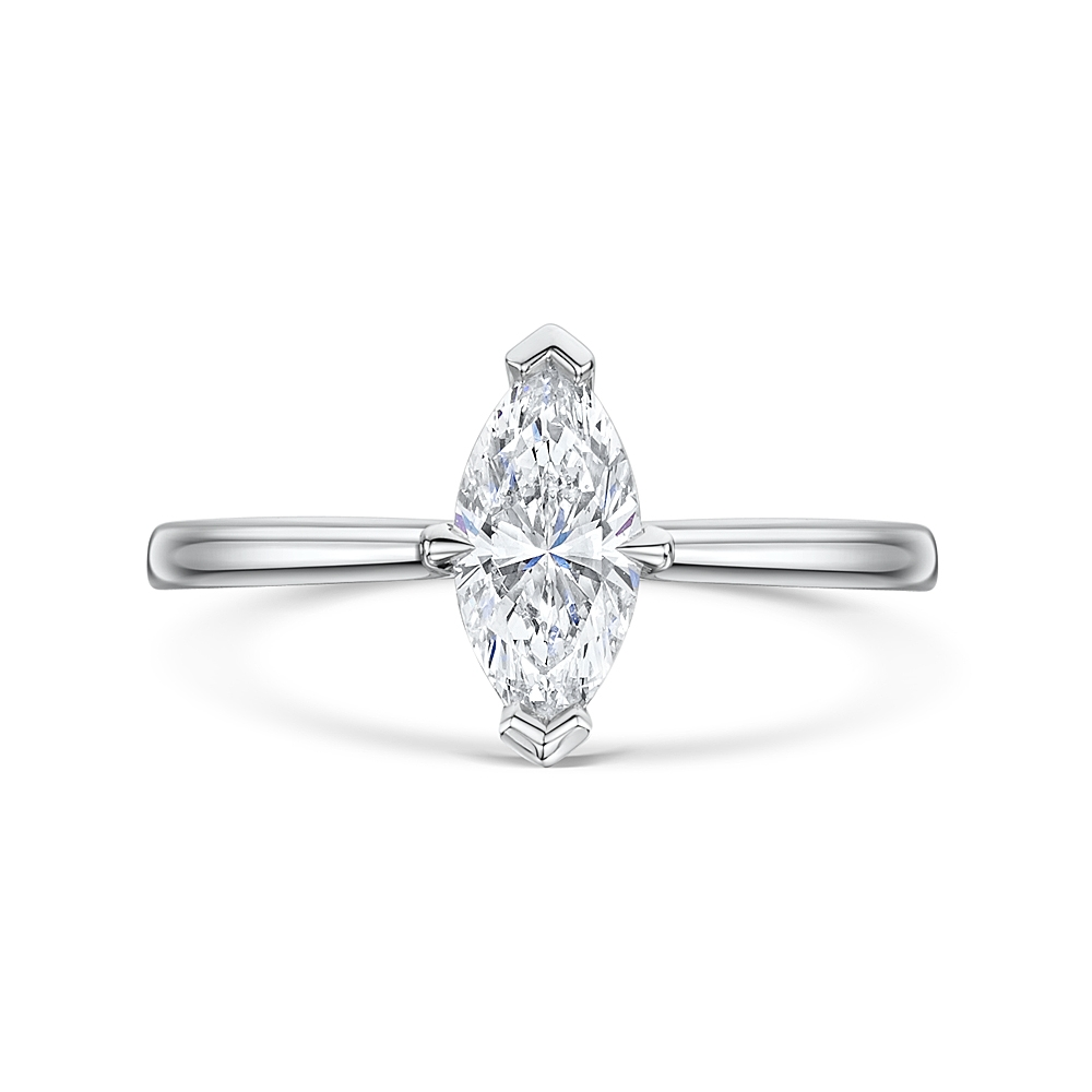 ROX Honour Marquise Cut Diamond Ring 0.70cts
