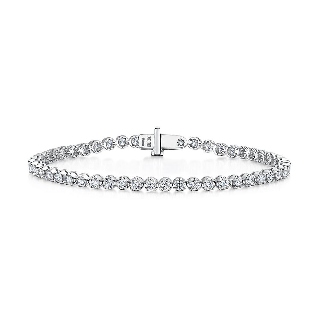ROX Diamond Tennis Bracelet 4.01cts