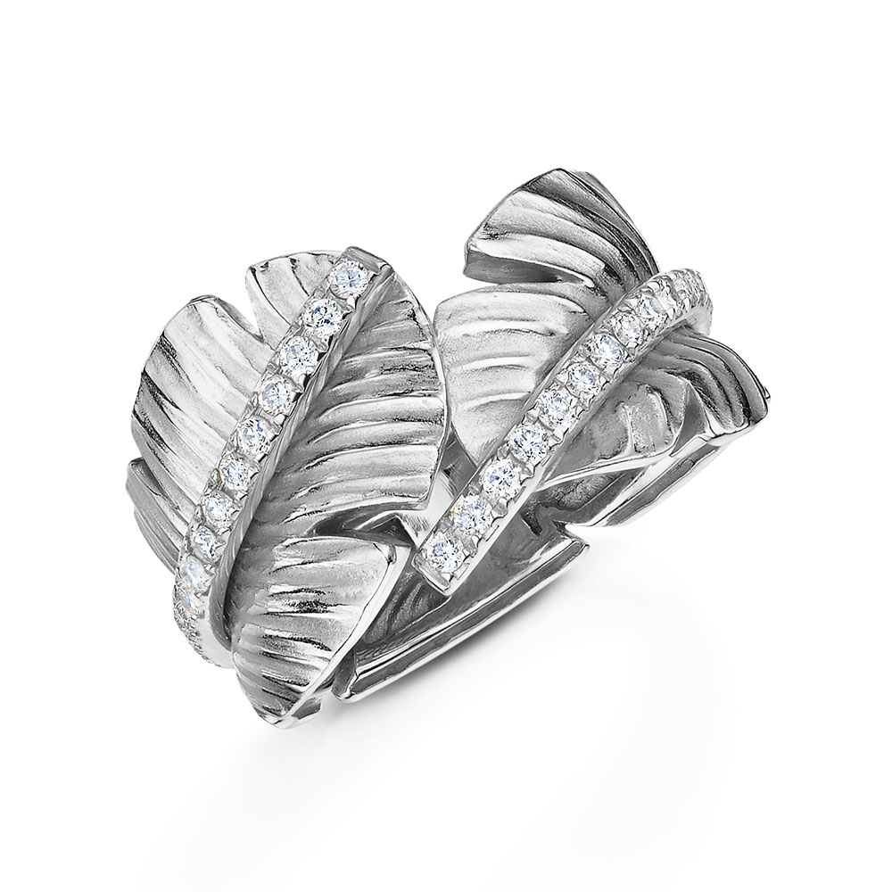 Tiki Diamond Ring 0.34cts
