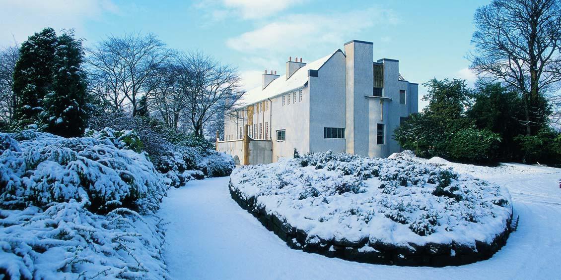 Winter Weddings: House for an Art Lover