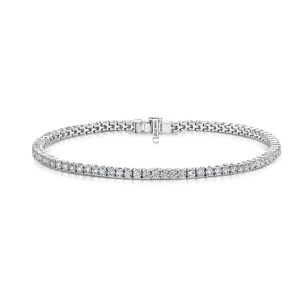 ROX Classic Diamond Tennis Bracelet 3.05cts