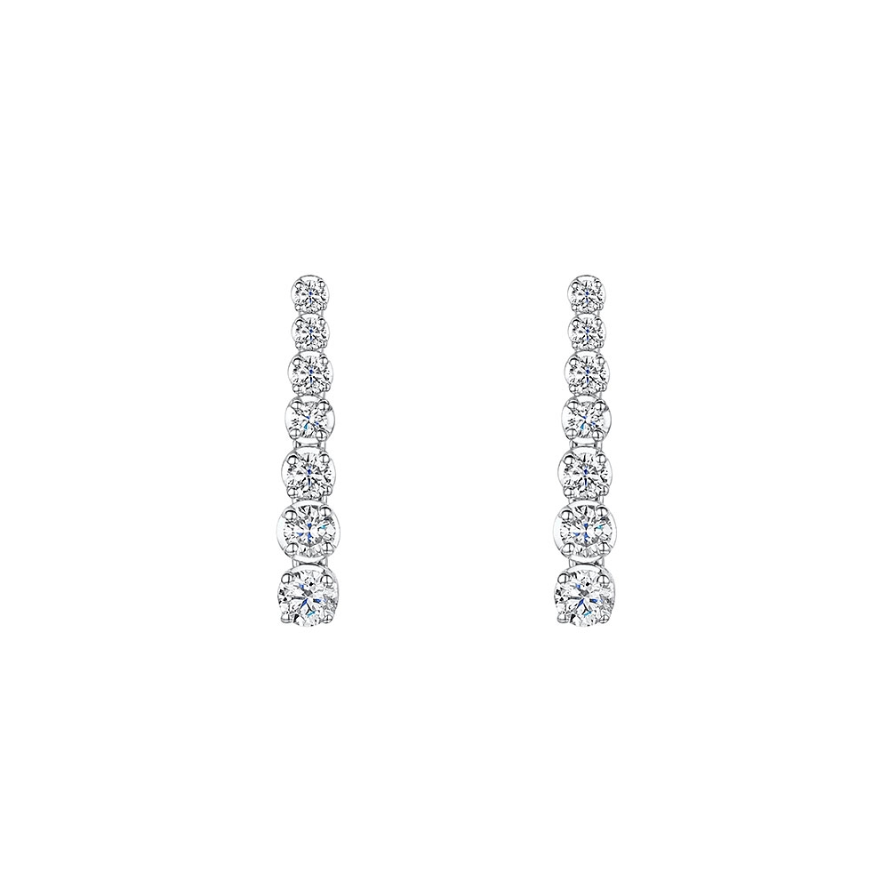 ROX Diamond Drop Earrings 0.50cts