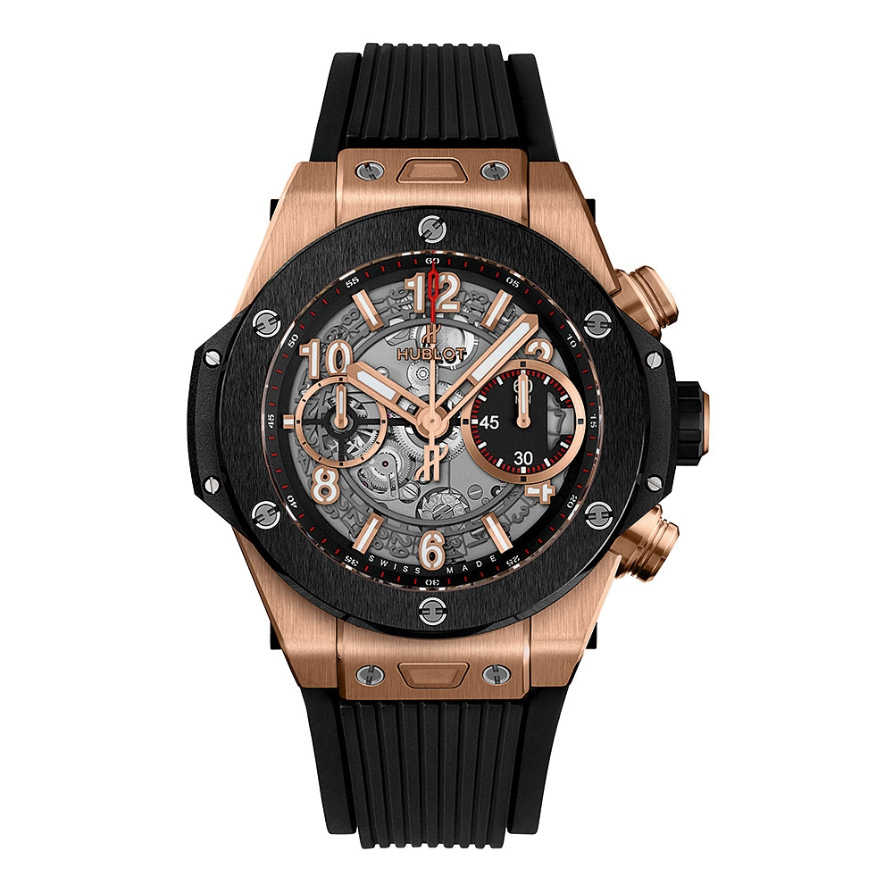 Hublot Big Bang Unico King Gold Ceramic Watch 42mm
