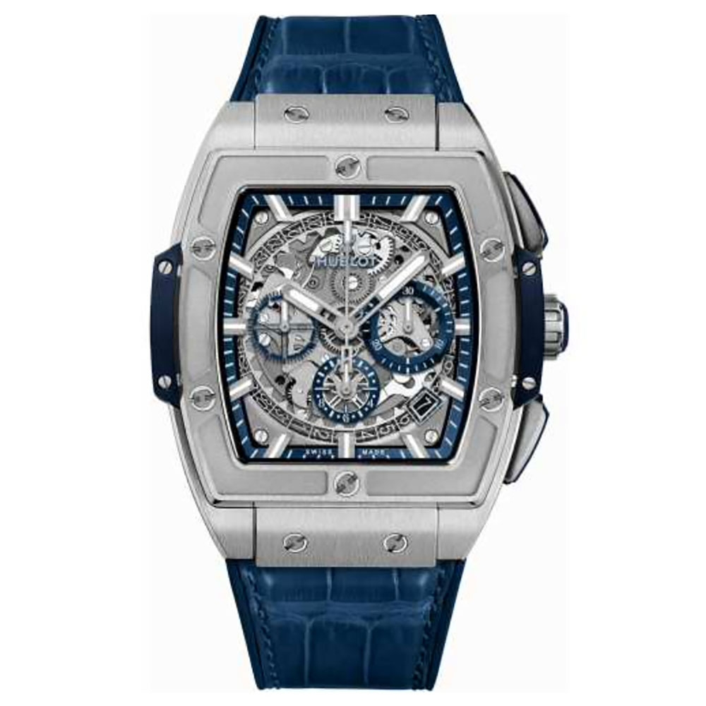 Hublot Spirit of Big Bang Titanium Blue Watch 45mm 601.NX.7170.LR