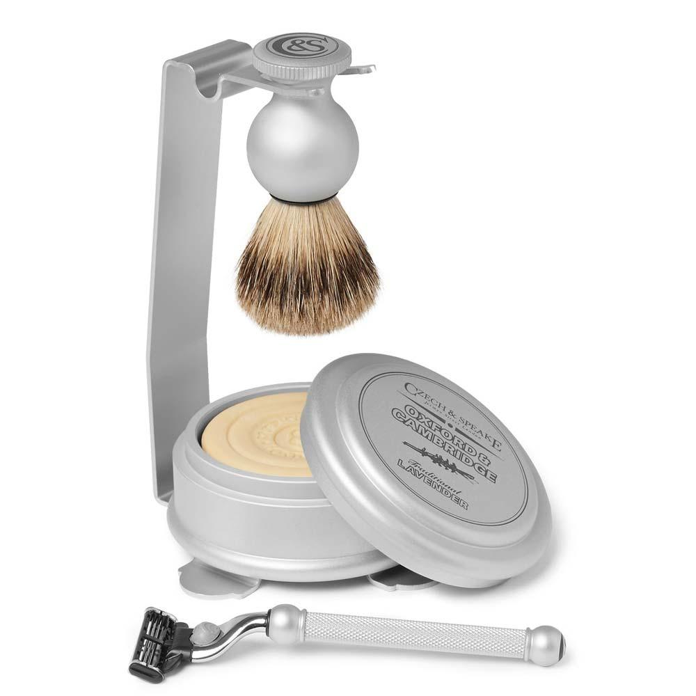 Czech and Speake Oxford & Cambridge shaving set