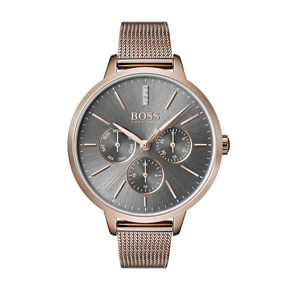 Hugo Boss Symphony Grey Dial Watch 1502424