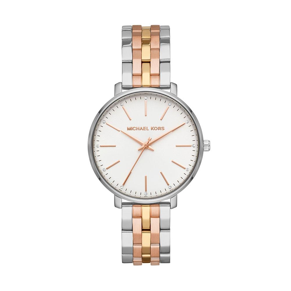 Michael Kors Pyper Tri Tone Watch MK3901