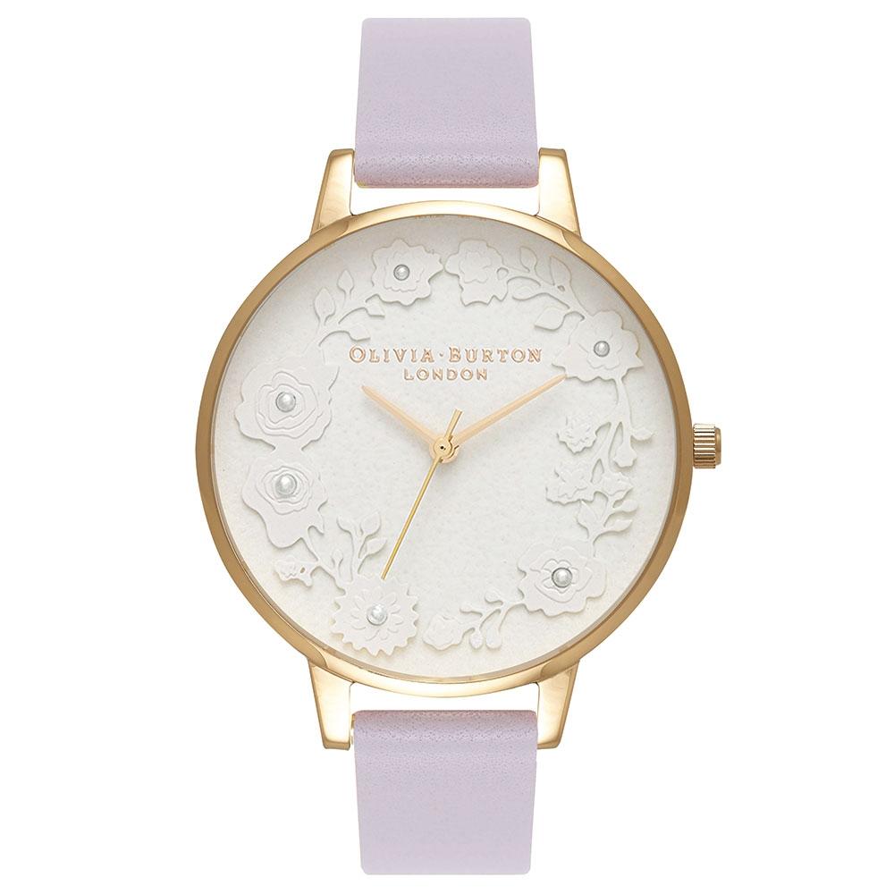 Olivia Burton Artisan Dial Lilac Watch OB16AR02