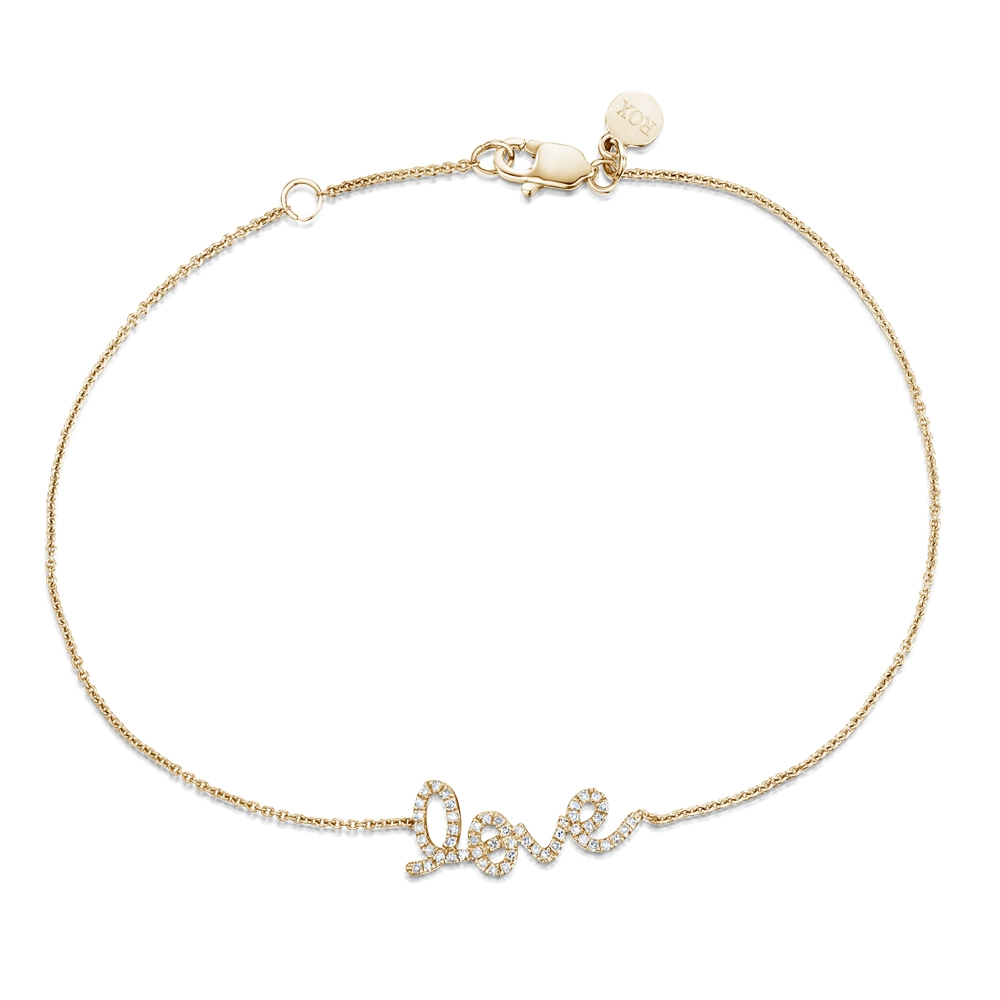 ROX Diamond 'Love' Bracelet 0.12cts