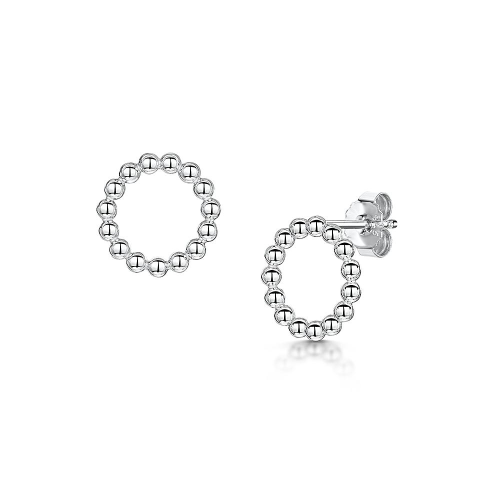 ROX Orbit Single Row Beaded Earrings