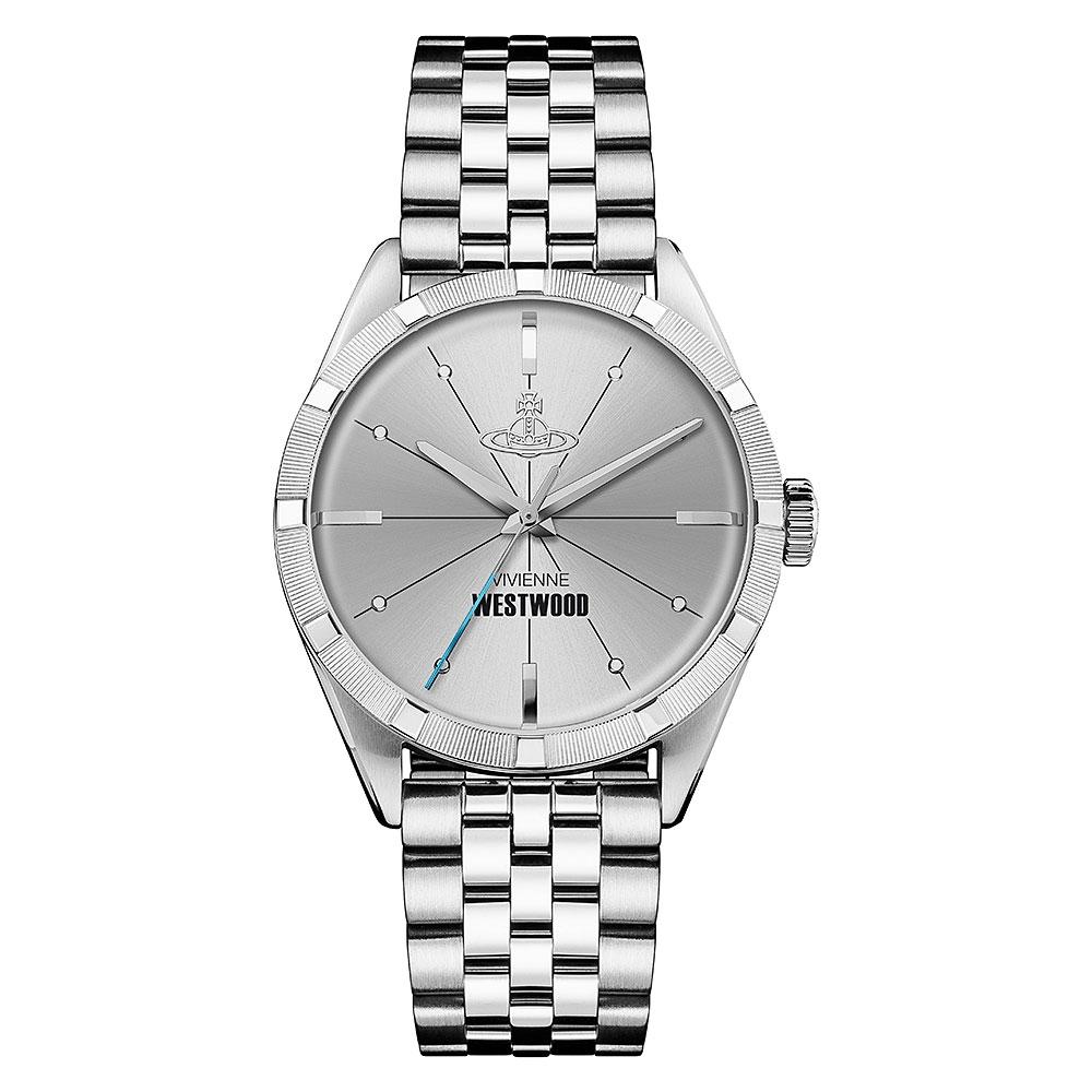Vivienne Westwood Conduit Steel Watch VV192SLSL