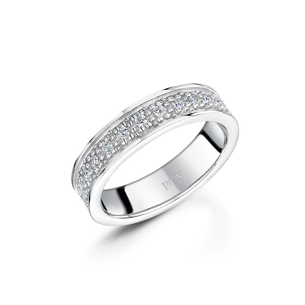 ROX Boho Silver Ring