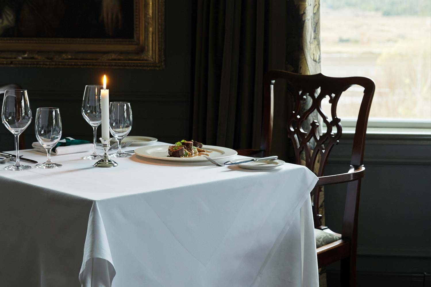 Dinner Plans: Kinloch Lodge