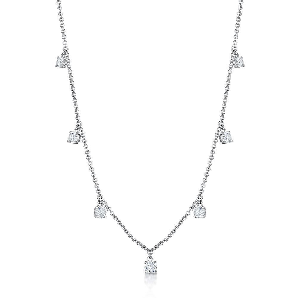 ROX Diamond Droplet Pendant 1.03cts