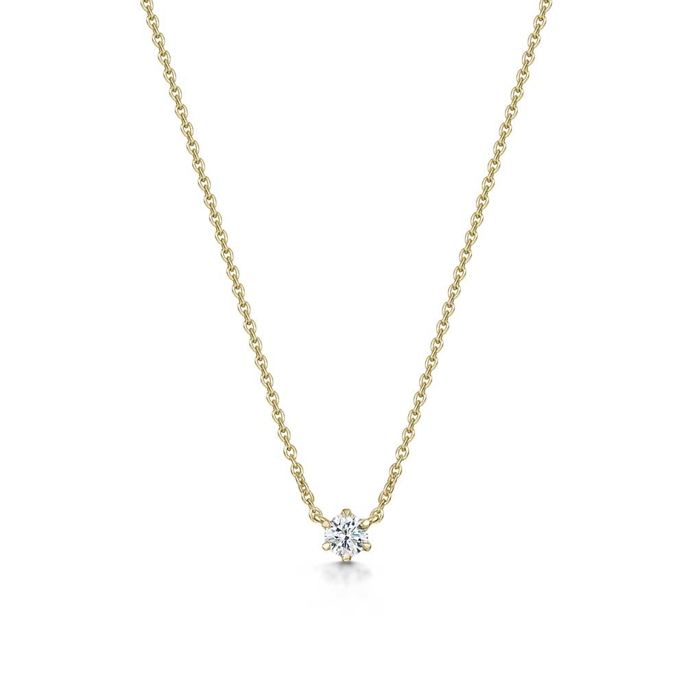 ROX Diamond Solitaire Necklace 0.11cts