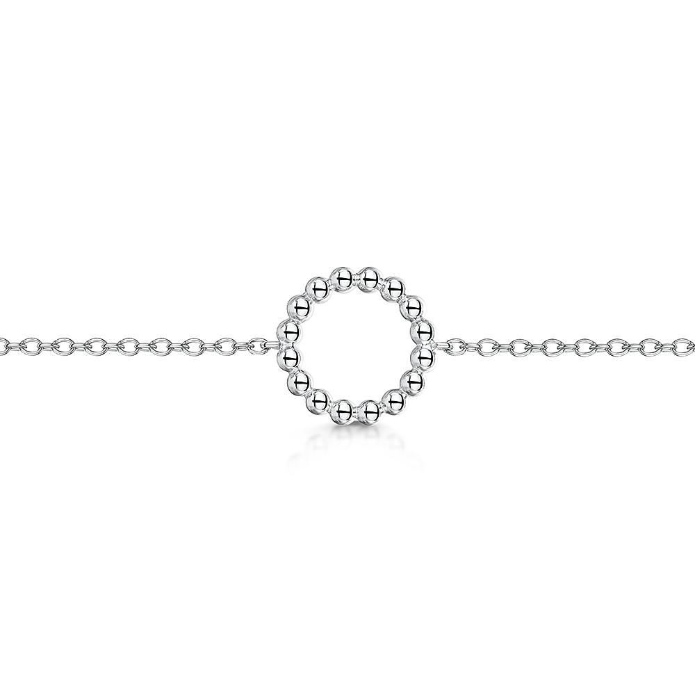 ROX Orbit Beaded Circle Choker