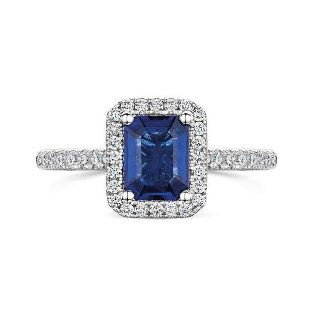 ROX Diamond Halo Ring 1.82cts