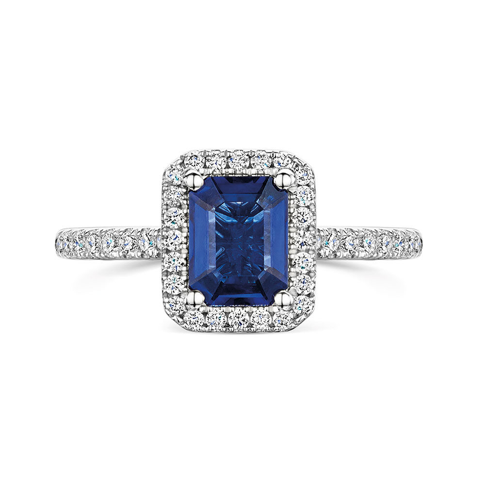 ROX Diamond Halo Ring 1.82cts