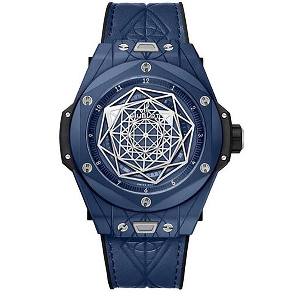Hublot Big Bang Unico Blue Ceramic Watch 415.EX.7179.VR.MXM19