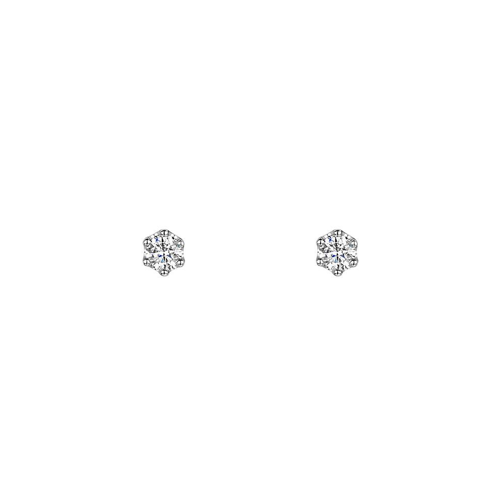 ROX Diamond 6-Claw Earrings 0.30cts
