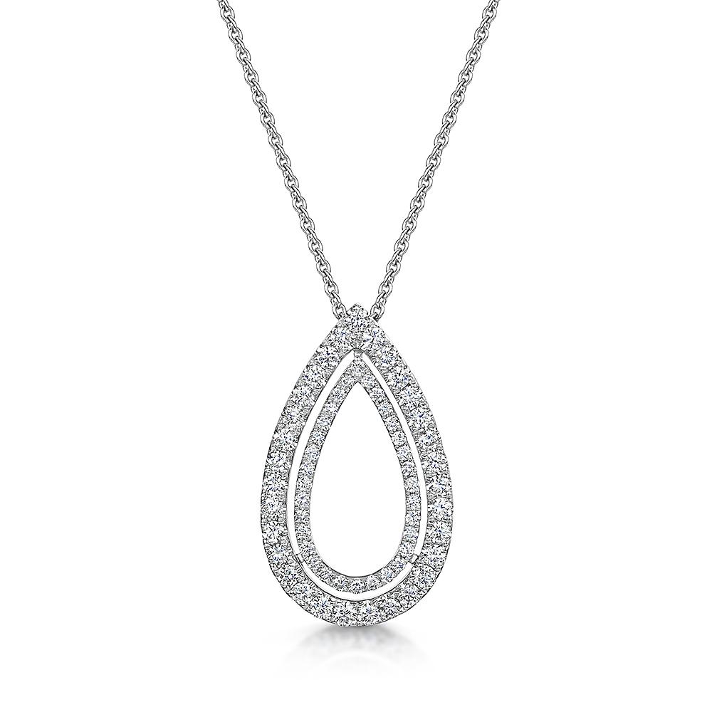 ROX Diamond Drop Necklace 0.69cts