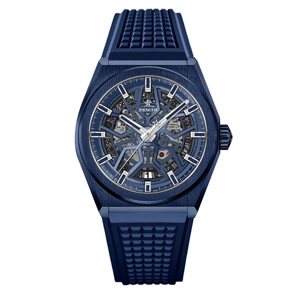Zenith Defy Classic Blue Ceramic 41mm Watch