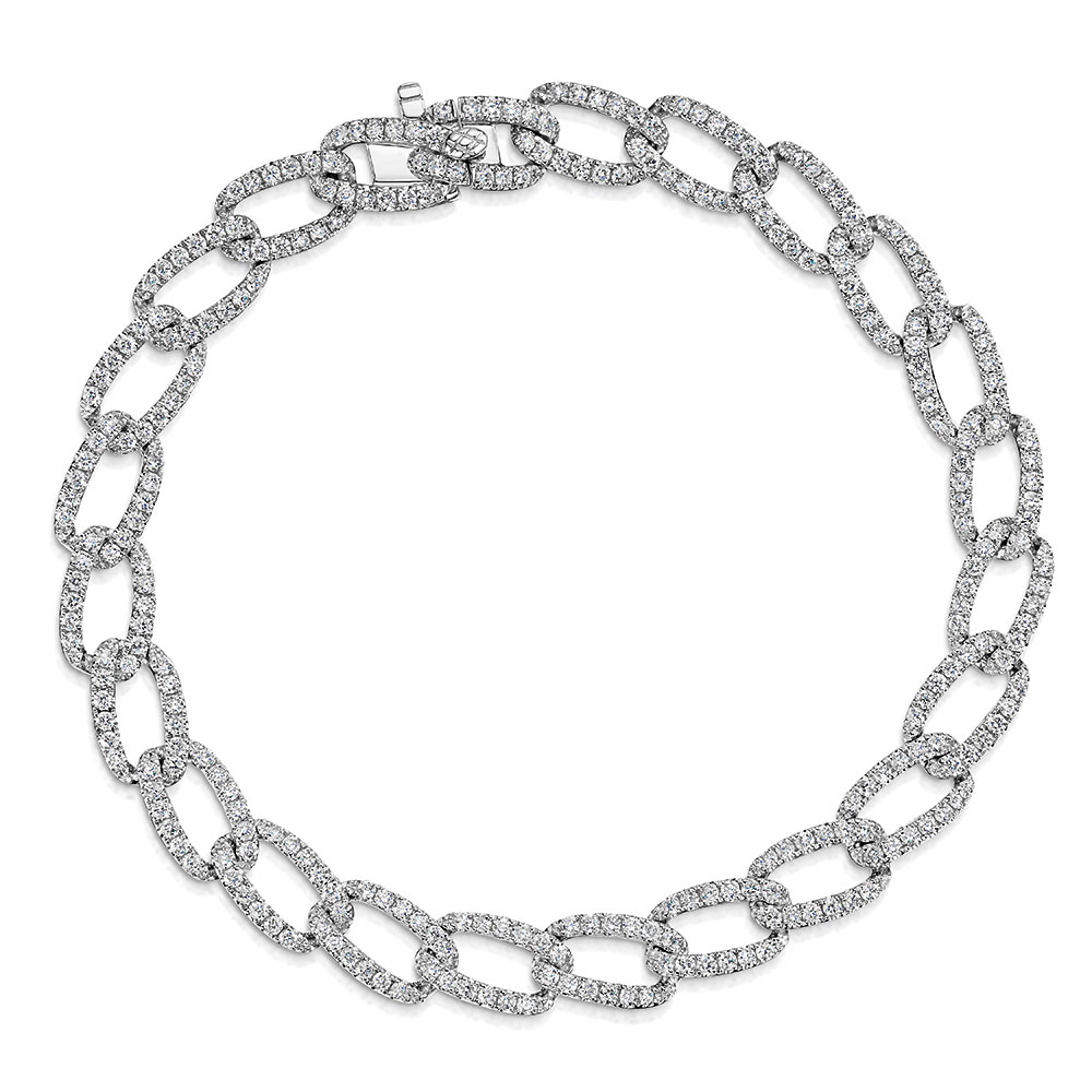 ROX Diamond Curb Bracelet 2.50ct