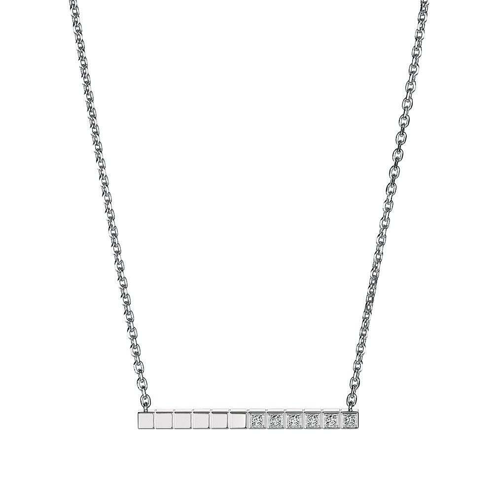 Chopard Diamond White Ice Cube Necklace