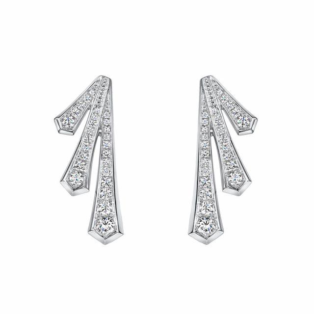 ROX Cosmic Diamond Drop Earrings 0.59cts