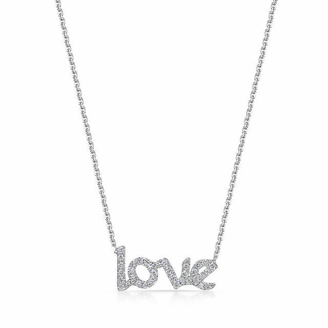 ROX Diamond Love Necklace 0.27cts