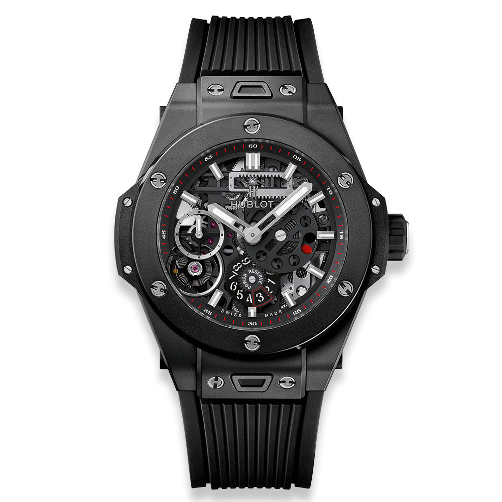 Hublot Big Bang Meca-10 Black Magic Watch 45mm