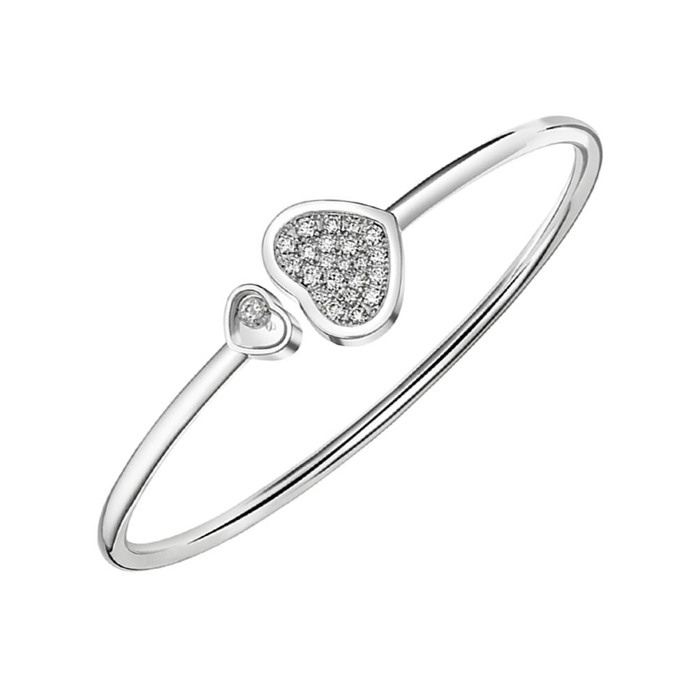 Chopard Happy Hearts Bangle 0.45cts 857482-1910